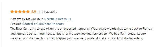 Trapper John Rodent Specialist Reviews